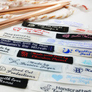 Narrow Woven Sewing Labels