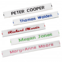 Pre-Cut Woven Name Labels