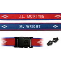 Personalized Woven Luggage Strap