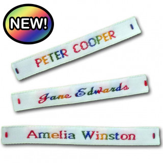 Rainbow Name Tapes