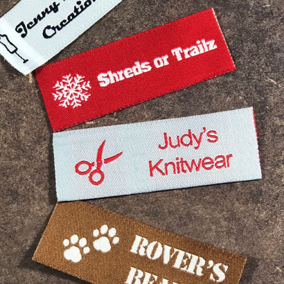 Essential Woven Sew-on Tag Labels
