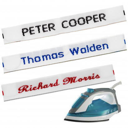 Woven Iron-on Name Tapes