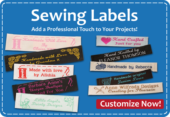 Click Here For Sewing Labels